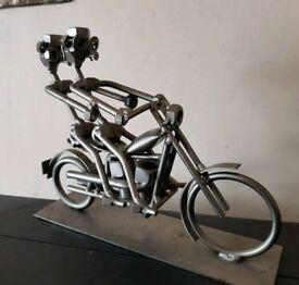 Nut and bolt man Bikers ornament