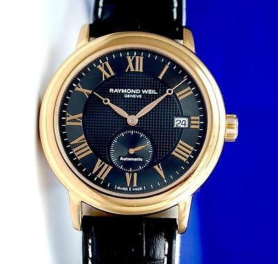 Mens Raymond Weil Maestro Automatic watch on Leather Strap - 2838-PC5-00209