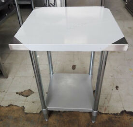 BRAND NEW TABLES STAINLESS STEEL
