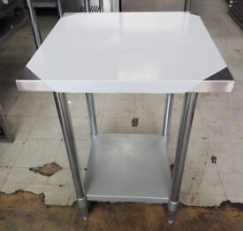 Tables Stainless Steel - 61cmx61cmx87cm