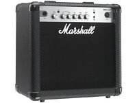 Marshall Amps for sale - Marshall MG15 DFX & Marshall MG15CF £50 each (Never used and in box)