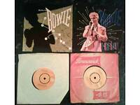 "VINYL RECORDS 7"" *BOWIE* ROLLING STONES* GEORGE MICHAEL AND MORE*"