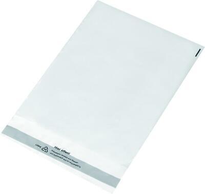 100 Versandtaschen / DIN C4 / glasklar transparent / aus PE