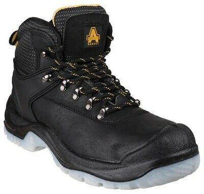 Amblers Safety FS199 Safety S1-P Boot Mens Black UK 9 EU 43 WK01 23