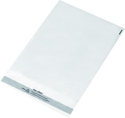 10 Versandtaschen / DIN C4 / glasklar transparent / aus PE