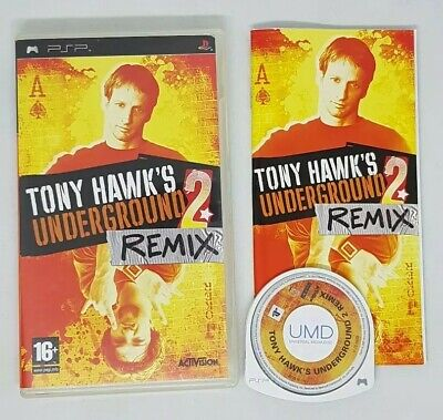 TONY HAWKS UNDERGROUND 2 REMIX PSP GREAT CONDITION !!!!