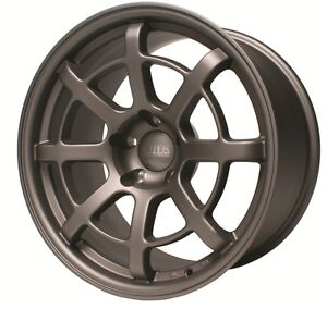 ARK-Design-R8-Alloy-Wheels-18inch-Nissan-Silvia-200SX-180SX-S13-S14-S15-Gunmetal
