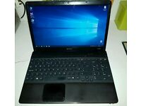 Laptop for sale! Sony vaio, charger and USB mouse. 225gb ssd, 8gb ram, windows 10
