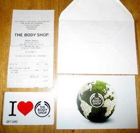 £20 Body Shop Gift Card - Expires December 2018
