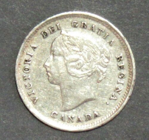 CANADA 1888 FIVE CENT PLEASING VF.
