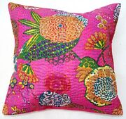 Pink Floral Cushions