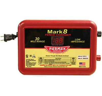 Parmak Mark 8 Low Impedance 110120-volt 30-mile Range Electric Fence Charger