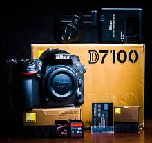 NIKON D7100 DSLR ***Excellent Shutter Count 5890!!! Guyra Guyra Area Preview