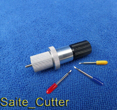 1pc Holder 15pcs Roland Graphtec Gcc Mimaki Summa Liyu Vinyl Cutter Blades
