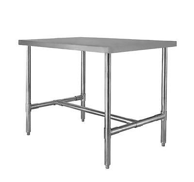 30 X 96 Stainless Steel H Frame Dining Table
