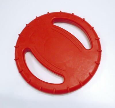 Hunde Wurfspielzeug XXL, Wasserspielzeug, Ring 20 cm Durchmesser, Rot, TPR ()