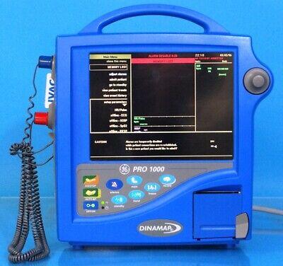 Ge Dinamap Pro 1000 Vital Signs Monitor