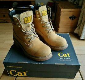 Womens Caterpillar Ottawa boots UK size 5