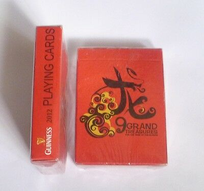 MALAYSIA Playing Cards GUINNESS Grand Treasures Chinese New Year 2012 Dragon