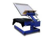 Silk Screen Printing Press 1 Color 1 Plate SIMTEX