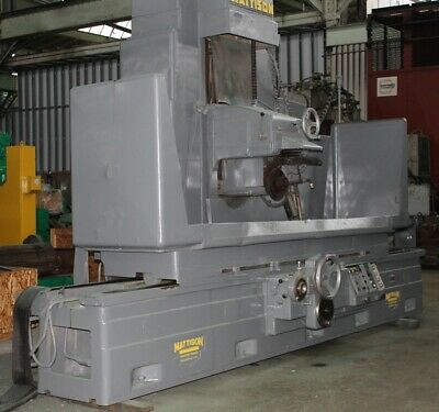 24 X 72 Mattison Horizontal Surface Grinder Yoder 18429