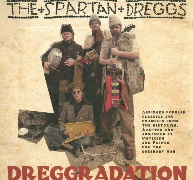 WILD BILLY CHILDISH & THE SPARTAN DREGGS - Dreggradation     LP     NEU