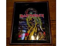 IRON MAIDEN EXTREMELY RARE RECORD