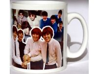 The Beatles Crossing Mug Tribute Collage Mug Cup Perfect Gift Decorated in UK