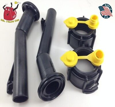 2 -blitz Gas Can Spouts Rings Vents Replacement Vintage 900094 900092 - New