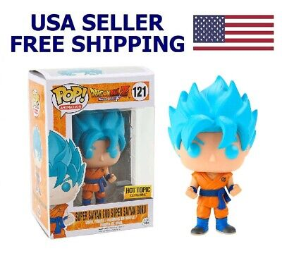 Funko Pop! Dragon Ball Z Vinyl Figure New With Box SUPER SAIYAN GOD Goku Gift