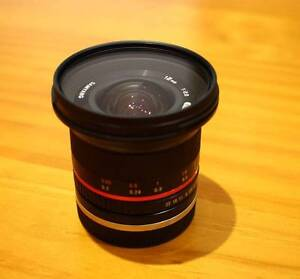 Samyang 12mm f/2 Wideangle lens for Sony E Mount Vermont Whitehorse Area Preview