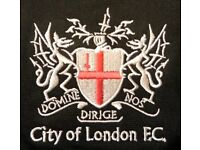 CITY OF LONDON FC TRIALS & TRAINING - 1 JULY -CANADA WATER