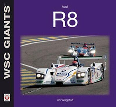 Audi R8 WSC Giants book paper car