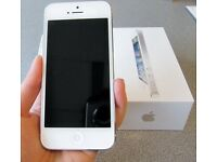 iPhone 5 white excellent 16GB