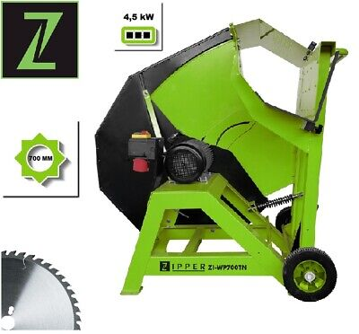 Zipper Wippkreissäge ZI-WP700TN Brennholzwippsäge HM-Blatt 700mm Kreissäge