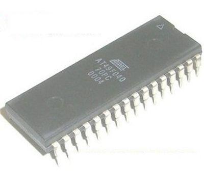 Atmel At49f040-70pi Dip-32 4-megabit 512k X 8 5-volt Only