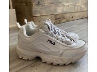 Fila Disruptor li, white leather