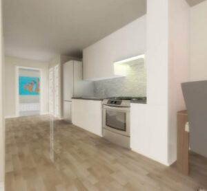 Contemporary condo style apartments corner Sherbrooke W. in NDG!