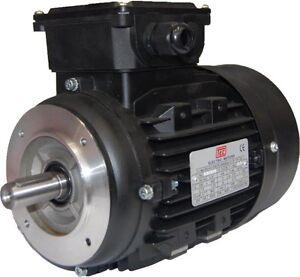Tec 3 Phase Electric Motor 230 400v 50hz Foot Flange Or