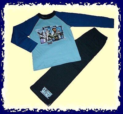 toller Schlafanzug  The Clone  STAR WARS  blau  104-116   NEU