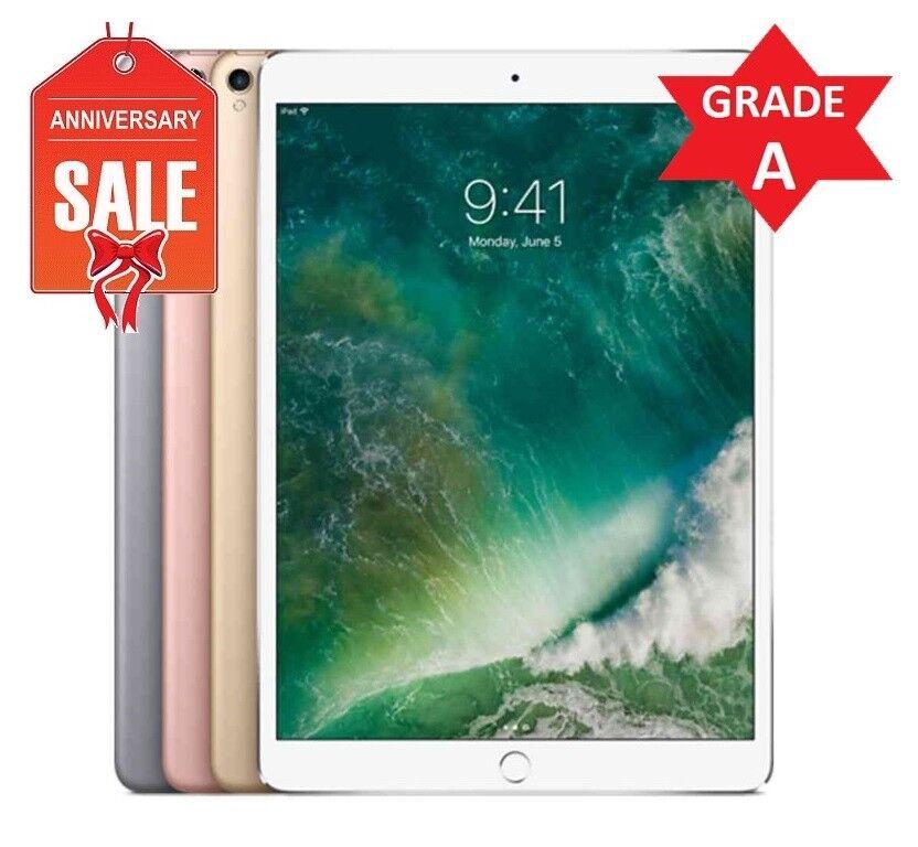 Apple iPad Pro 2nd Gen. 64GB, WiFi, Unlocked 10.5in - ROSE GOLD GRAY SILVER (R)