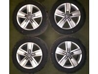New Genuine VW T6 Alloy Wheels With Tyres 17inch