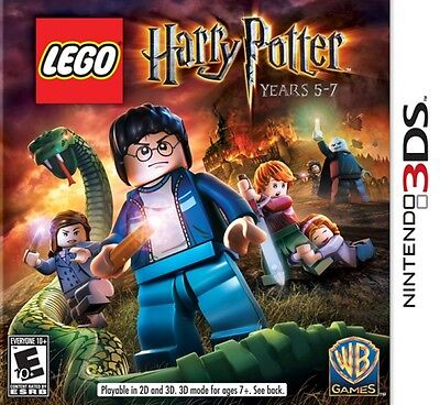 Lego Harry Potter  Years 5 7   Nintendo 3Ds Game Only
