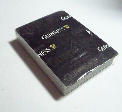 MALAYSIA Playing Cards GUINNESS STOUT Black White Pack Sealed 2010 No Box