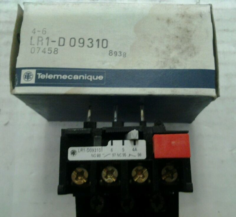 Telemecanique LR1-D09310 Thermal Overload Relay LR1D09310 NEW