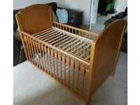 Cot bed (Cosatto stratford)