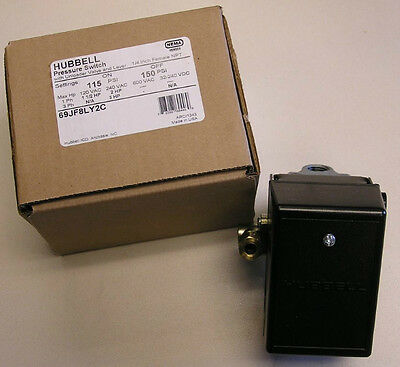 69jf8ly2c Air Compressor Pressure Switch 115-150psi 69mb8ly2c Furnashubbell