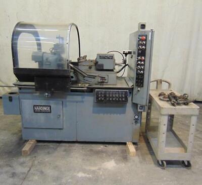 Hardinge Automatic Turret Lathe Dsm-a 460 V 4.1 Hp 60 Hz 3 Phase Amf-8220
