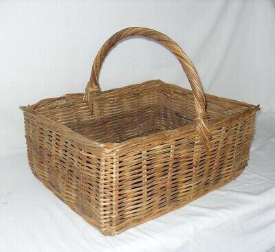 Medium size Vintage Wicker Basket