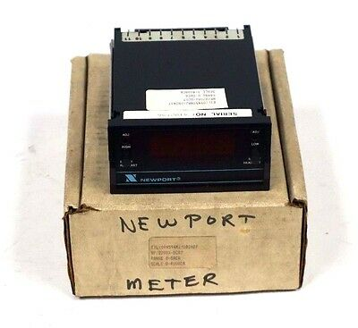 New Newport Transcat Npq2001-dcr7 Panel Meter